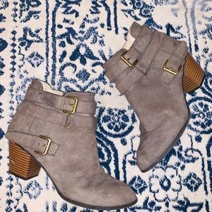 🔻TAUPE BOOTIES FROM EXPRESS